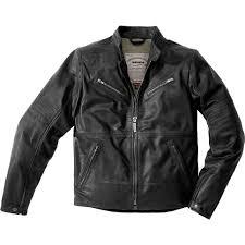 sentinel spidi garage leather motorcycle jacket