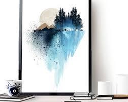 prints on wall art prints etsy with prints etsy ca