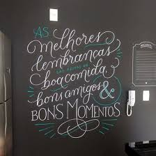 Com ele e um giz de lousa, você pode desenhar e escrever o que quiser nas suas paredes e, quando se cansar do visual, é só apagar com um paninho simples e inventar algo totalmente novo. Menu Em Giz Tassiana Martini Caligrafia E Lettering Lettering Tutorial Inscricao Letra De Grafitti