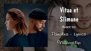 Avant toi von Vitaa & Slimane