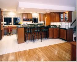 Beautiful Kitchen Floor Tiles Black Metal Height Counter Stools Feat Elegant Kitchen Bar Design