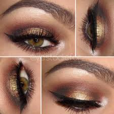 formal eye makeup for hazel eyes elegant seduction get this look all natural vegan eyeshadow and