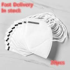 20pcs KN95 Masks Protective Safety Reusable Valved Face ... - Vova