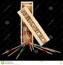 Game With Wooden Sticks Mikado Wooden Sticks And Box Stock Illustration Illustration 95