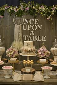 Rustic Bohemian Chic Dessert Table Decor Ideas Deer Pearl Flowers