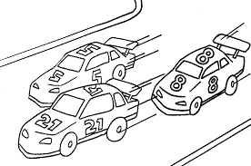 Coloring pages are fun for children of all ages and are a great educational tool that helps children develop fine motor skills, creativity and color recognition! Printable Race Car Coloring Pages Coloringme Com