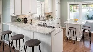 White River Granite Kitchen River White Granite Countertops In Kitchen Youtube