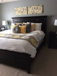Exquisite Gray And Yellow Rooms In Unique
