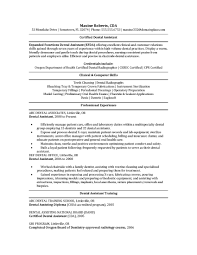 Bunch Ideas Of Dental Assistant Resumes Examples Fabulous Resume