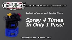 Greenleaf Spray Tip Chart Sprayer Nozzles For Agriculture And Turf Spraying Systems