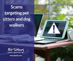 pet sitters beware email scams