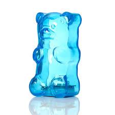 Light Gummy Bears Gummygoods Gummy Bear Night Light Blue Raspberry