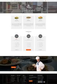 05 pricing gift card page savory restaurant and cafe psd template