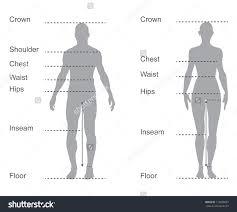Pin By Liyun Wang On Clothing Body Measurement Chart Body
