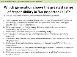 an inspector calls by j b priestley english literature ppt  84 how