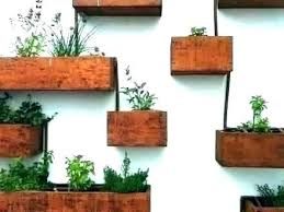 outdoor wall planter outside wall