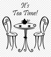 Sticker Citation Cuisine It S Tea Time Ambiance Sticker Imagine