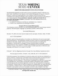 10 Sample Annotated Bibliography Apa Payment Format