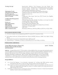 Quality Analyst Cv Business Analyst Resume Template Word Business Analyst Resume