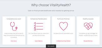 Vitality offers both term life insurance (i.e. Vitality Health Vitality Health Insurance Vitality Medical Insurance Vitality Health Check Medical Insurance Health Insurance Infographic Health Insurance