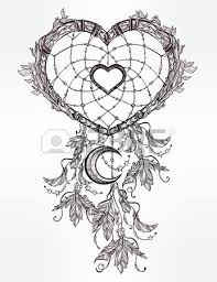 Heart Shaped Dream Catchers