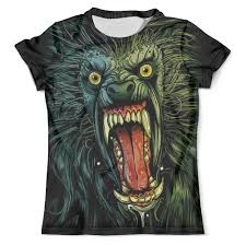 <b>Футболка</b> с полной запечаткой (мужская) Оборотень/<b>Werewolf</b> ...