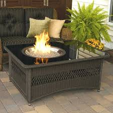 outdoor coffee table with gas fire pit rectangular outdoor gas fire pit elegant coffee tables ideas