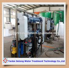 salt water electrolysis sodium hypochlorite generator chlorine ion plant for water treatment chlorine ion plant sodium hypochlorite