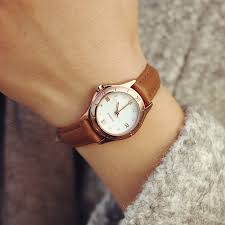new watch women vintage genuine leather strap small dial watches sport quartz las slim wrisch relogio feminino relojes