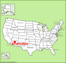 scottsdale location on the us map