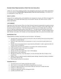 Benefits Representative Sample Resume Chic Outside Sales Resumes Examples With Campus Representative 7