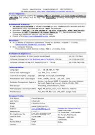 Ideas Collection Fresher Software Engineer Resume Sample Doc Best Of