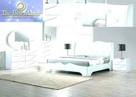 Modern Bedroom Sets White Contemporary Set Furniture