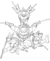 Small Picture Tmnt Coloring Pages Teenage Mutant Ninja Turtles Color Pages 5192