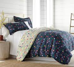 Bed Linen Duvet Cover Set Quilt Cover Set Reversible Shabby