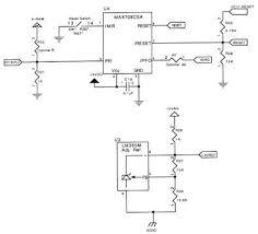 appendix d qvga schematics qed board reset circuitry processor reset circuit