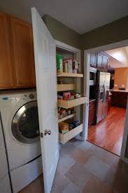 kitchen laundry room cabinets laundry. Laundry Room Design Ideas. Pull Out Drawers Are Quite Space Saving. Kitchen Cabinets