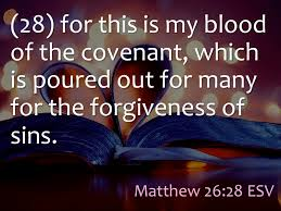 Image result for matthew 26 28
