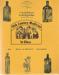 19th century medicine in glass