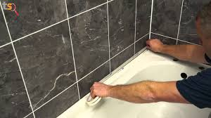 Sealing Bathroom Tile Tommys Trade Secrets How To Silicone A Bath Youtube