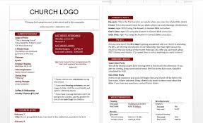 Church Bulletin Template Free Church Bulletin Templates Professional Template 1