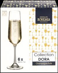 <b>Набор бокалов для шампанского</b> CRYSTALITE BOHEMIA Дора ...