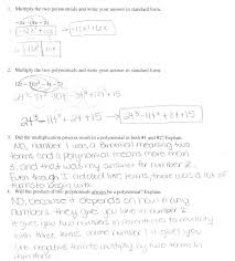 worksheet multiply polynomials worksheets one question positively and negatively or both questions 3 4 the