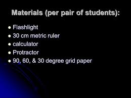 Activity 11 Light Concentration And The Seasons Ppt Download