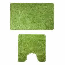 <b>Набор ковриков Milardo</b> для ванной комнаты зеленый купить по ...