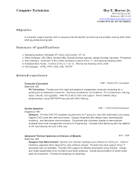 Delighted Computer Technician Resume Images Resume Ideas