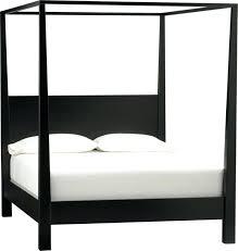 Black 4 Post Bed Remarkable Black King Canopy Bed With 4 Post Bed Frame  Full Size Of Bed Black Four Post Bedroom Set