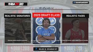 NBA 2K20 - 2020 NBA Draft Class (PS4 ...