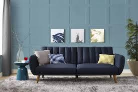 navy seating comfortable sofa bed