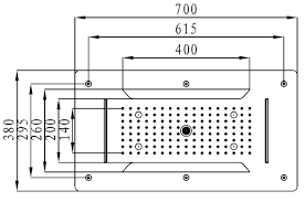 Xxl Regendusche Edelstahl Deckenbrause Dpg5030 Superflach